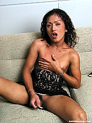Mouth Open Hand On Shemale Tits Asian Shemale Stroking Cock On Sofa Open Legs