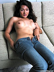 Pulling Jeans Down